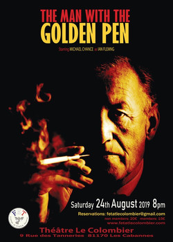 Man with the Golden Pen poster