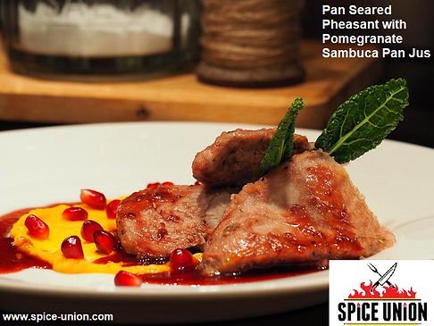 AnE.Pheasant.Pomegranate.Sambuca.panjus.