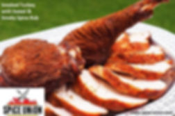 Smoked turkey thighs drumstick