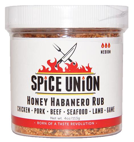 Honey Habanero Rub (4oz avail.)