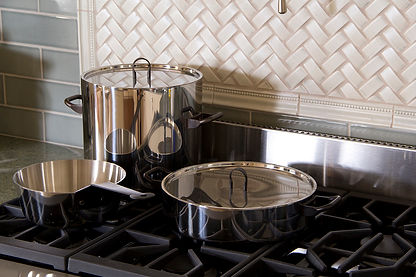 stainless clad pots and pans
