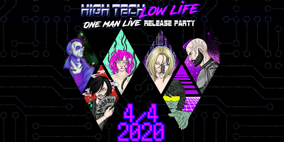 HighTechLowLife - one man live - RELEASE PARTY