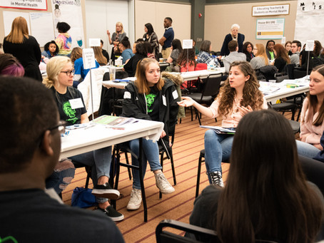 Youth from 26 School Districts Advocate for Teen Mental Health