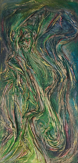 Mary Bobson Whirlwind of green meadows,