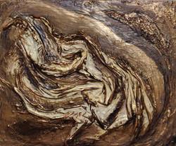 Mary Bobson Stream of bronze, 2020