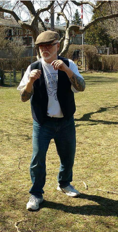 Starting posture Higgins Family Boxing