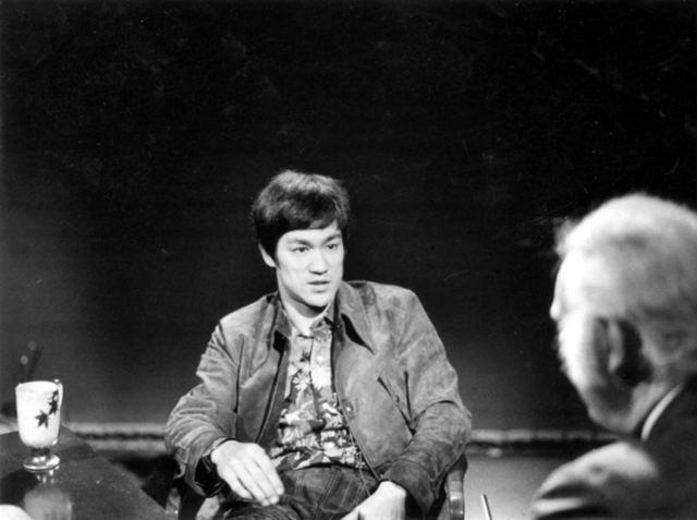 Pierre Berton interviewing Bruce Lee