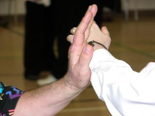 Pushing hands - I
