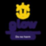 GLOW_Logo_cmyk_symbole_couleur_lueur_log