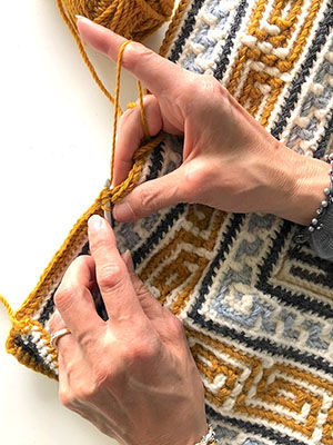 Learn how to mosaic crochet and/or learn other creative crafting skills