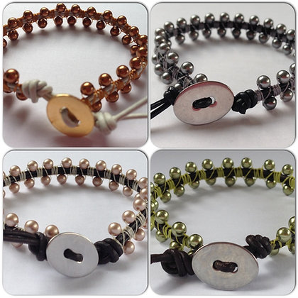 Micro Macrame  Bracelet Class