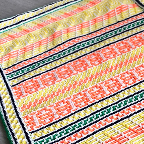 Mosaic Sampler Babyghan Pattern