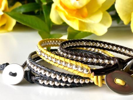 Gorgeous boho style bracelet to make