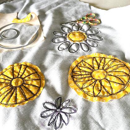 Machine Embroidery Class