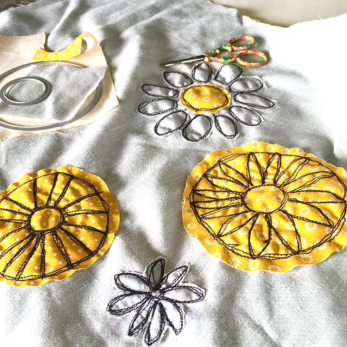 Machine Embroidery Class