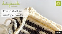 How to start an envelope border