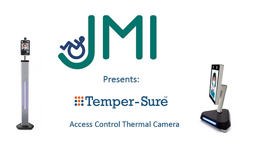 temper-sure thermal camera corona prevention access control scanner