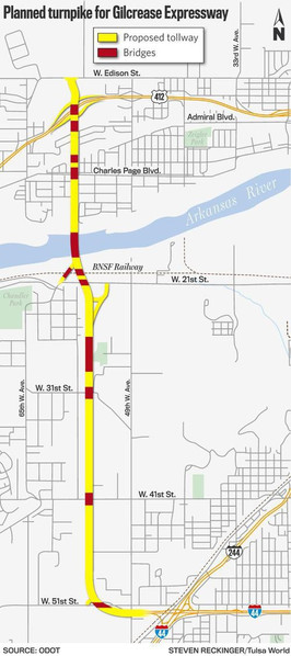 Gilcrease Expressway extension project moving forward on schedule, officials say
