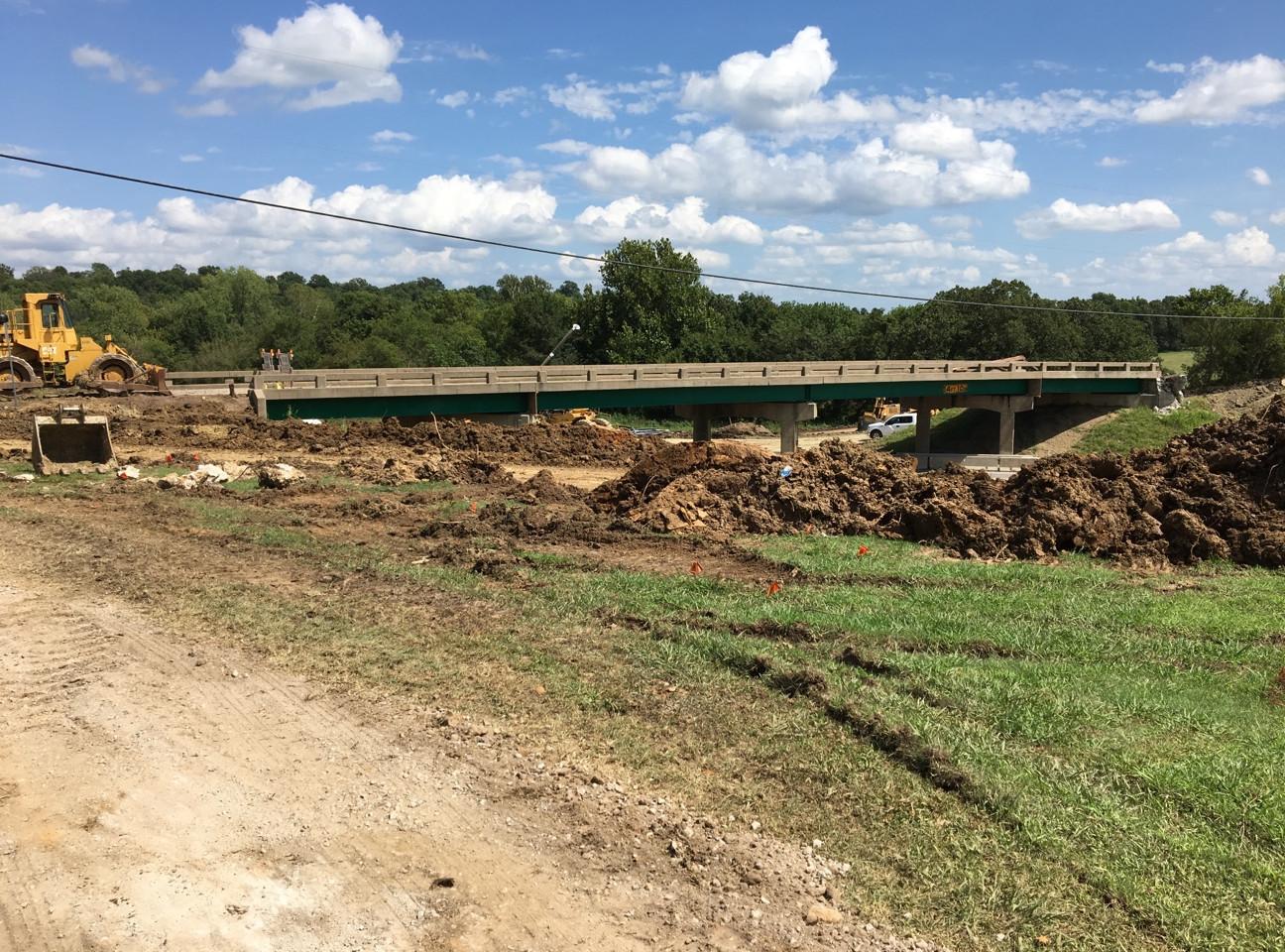209th St Bridge Demo 1