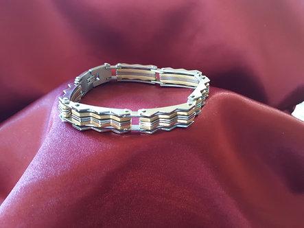Zig Zag Chain Bracelet