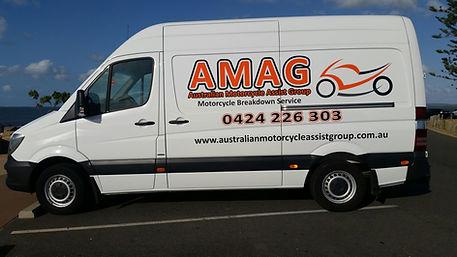 AMAG Breakdown Van