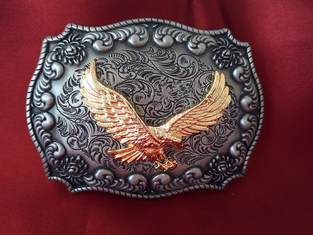 Gold Plated Eagle Belt Buckle