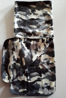 Neck Warmer - Grey Camo