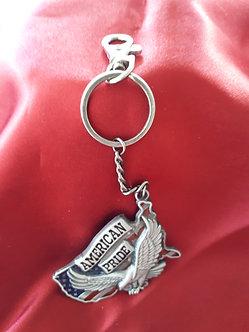'American Pride' Key Ring