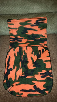 Neck Warmer - Orange Camo