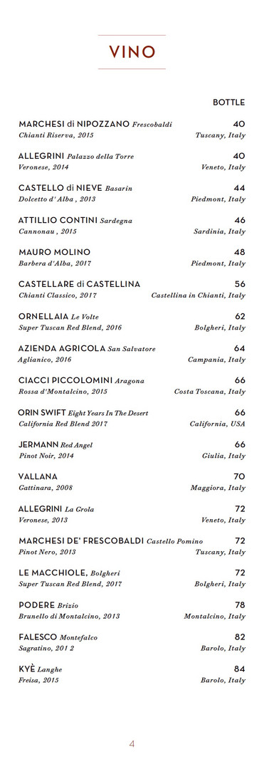 Page 4 - Napolita Drinks