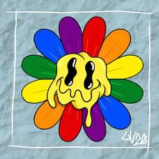 Gay Pride Daisy
