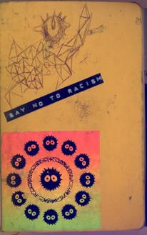 Yellow Moleskine Visual Journal Jul'16 - Dec'16