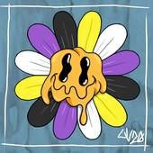 Non-Binary Pride Daisy
