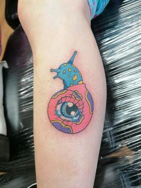 Kawaii Eye Snail