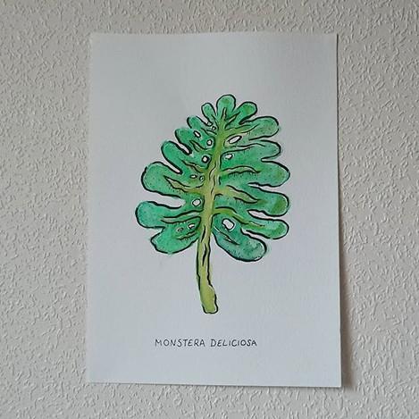 Tropical Leaf 1