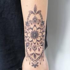 Ornemental Arm Tattoo