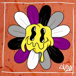 Asexual/Demisexual Pride Daisy