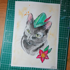 Duke - Cat Portrait