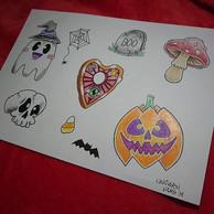 🦇 Halloween themed flash, all avaliable