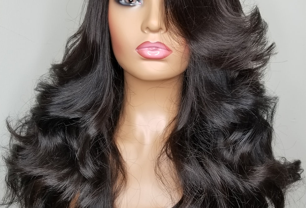 Glueless lace closure Unit 5 bundles of 24""