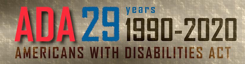 ADA 29 Years Graphic