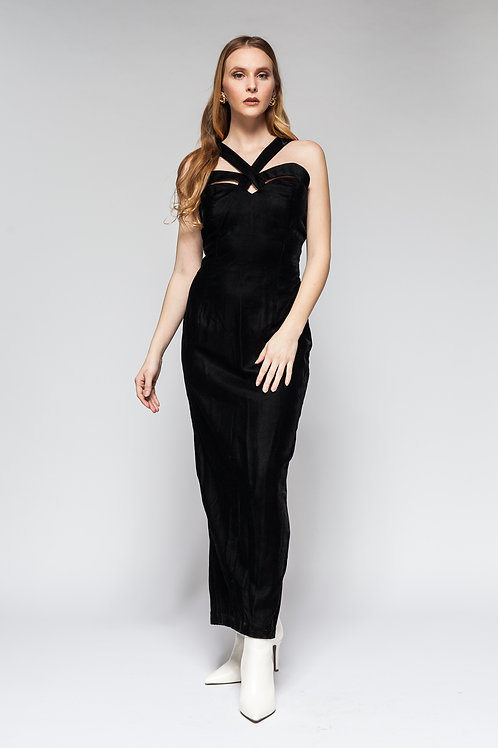 Black Out Gown