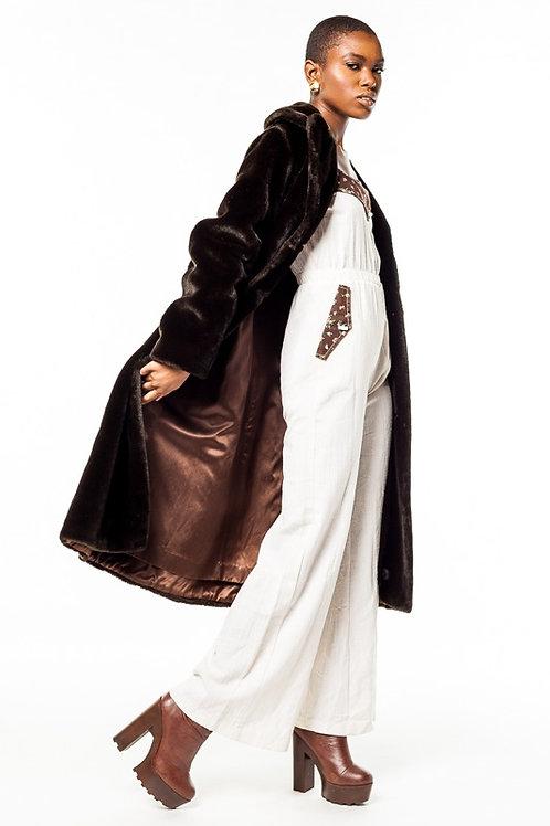 Sold Out Vintage Faux Fur Coat