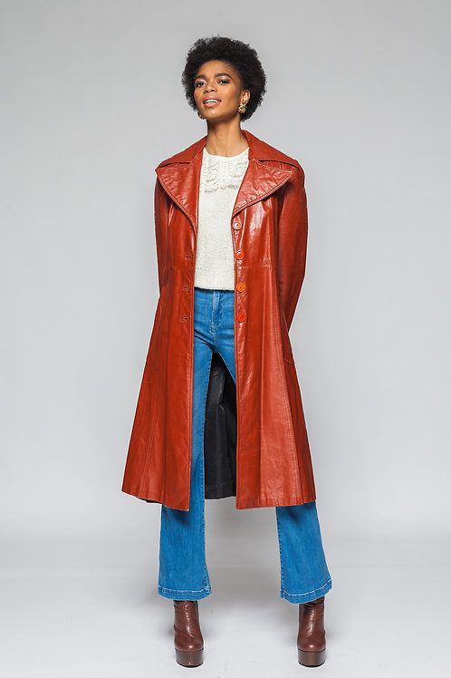 Leather Lover Trench