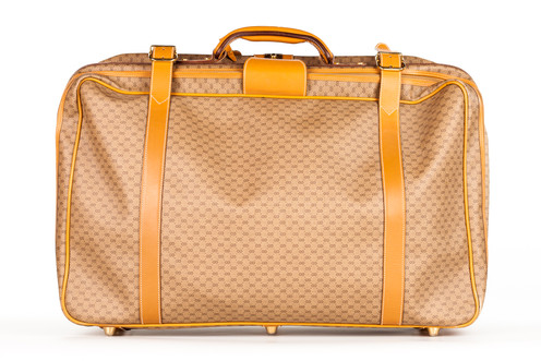0f2fe31cb Sold Out Vintage Gucci Monagram Suitcase