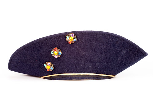 Vintage  Navy Sailboat Hat