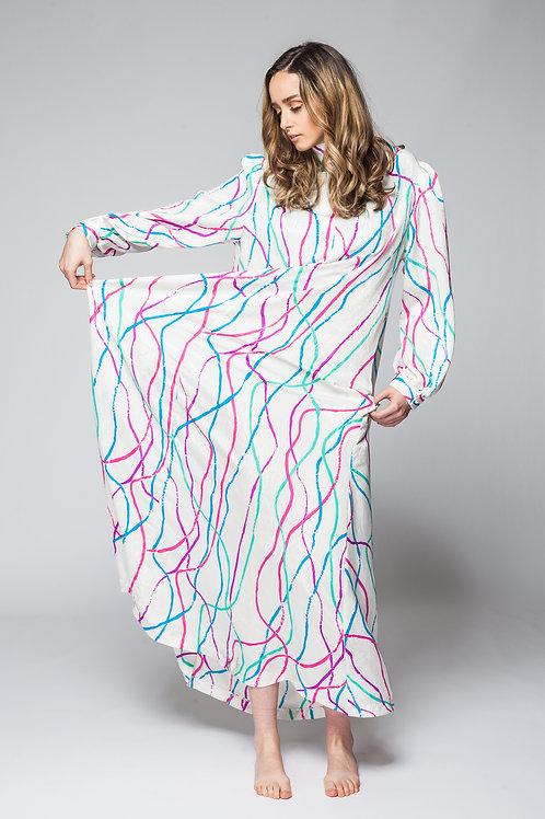 Goddess in Swirls