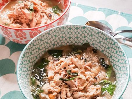Como fazer Pho gà, ou, sopa vietnamita de frango