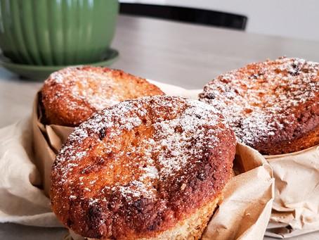Pãozinho doce tipo chocotone