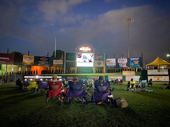 PeoplesBank Park - Drive-In Movie